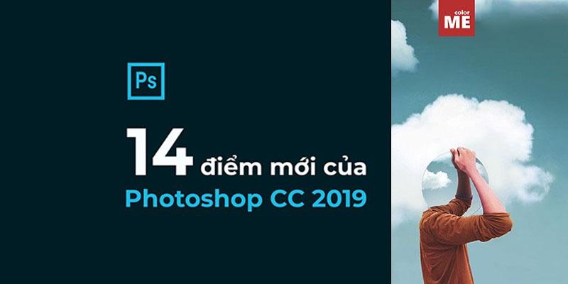 14 điểm mới của photoshop cc 2019