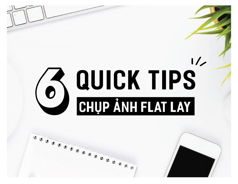 6 quick tips chụp ảnh flatlay