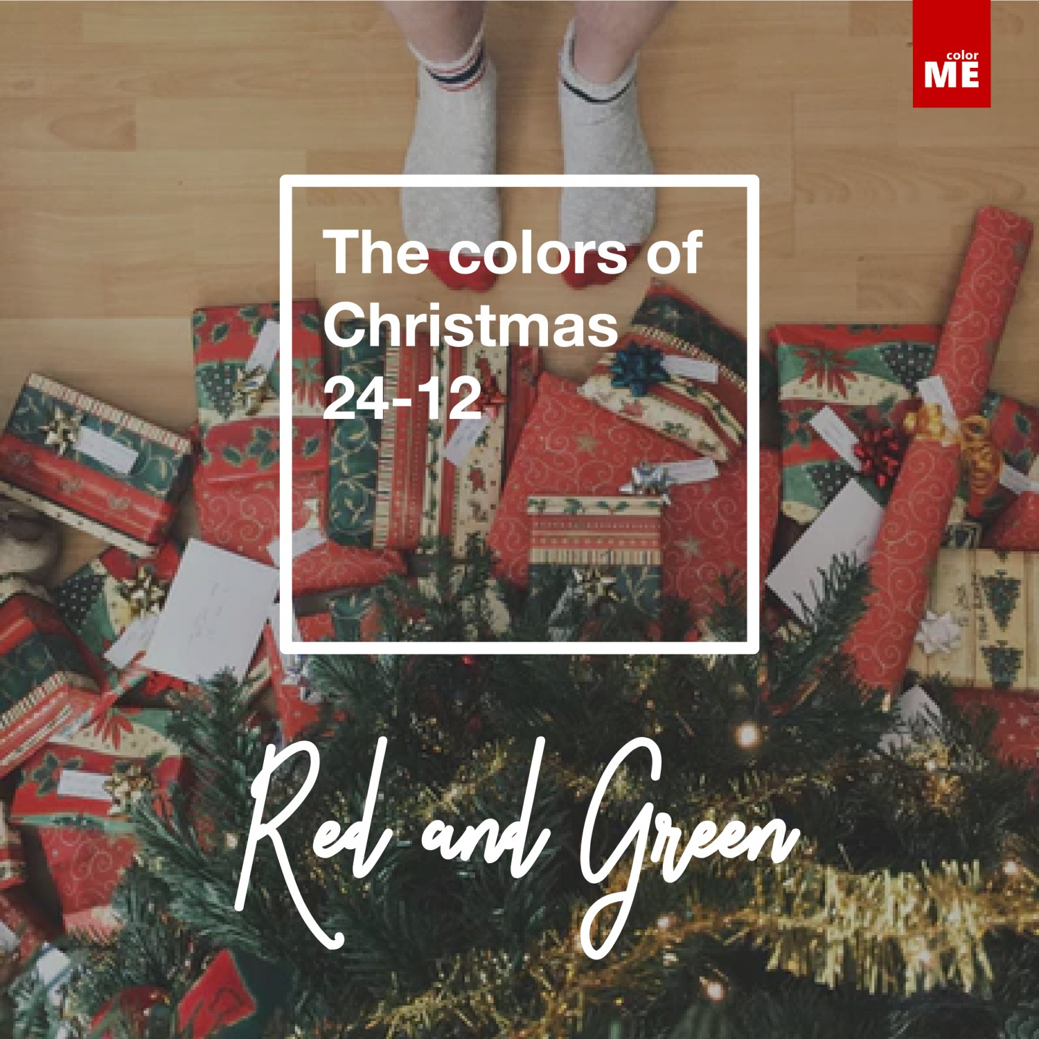 Color of christmas
