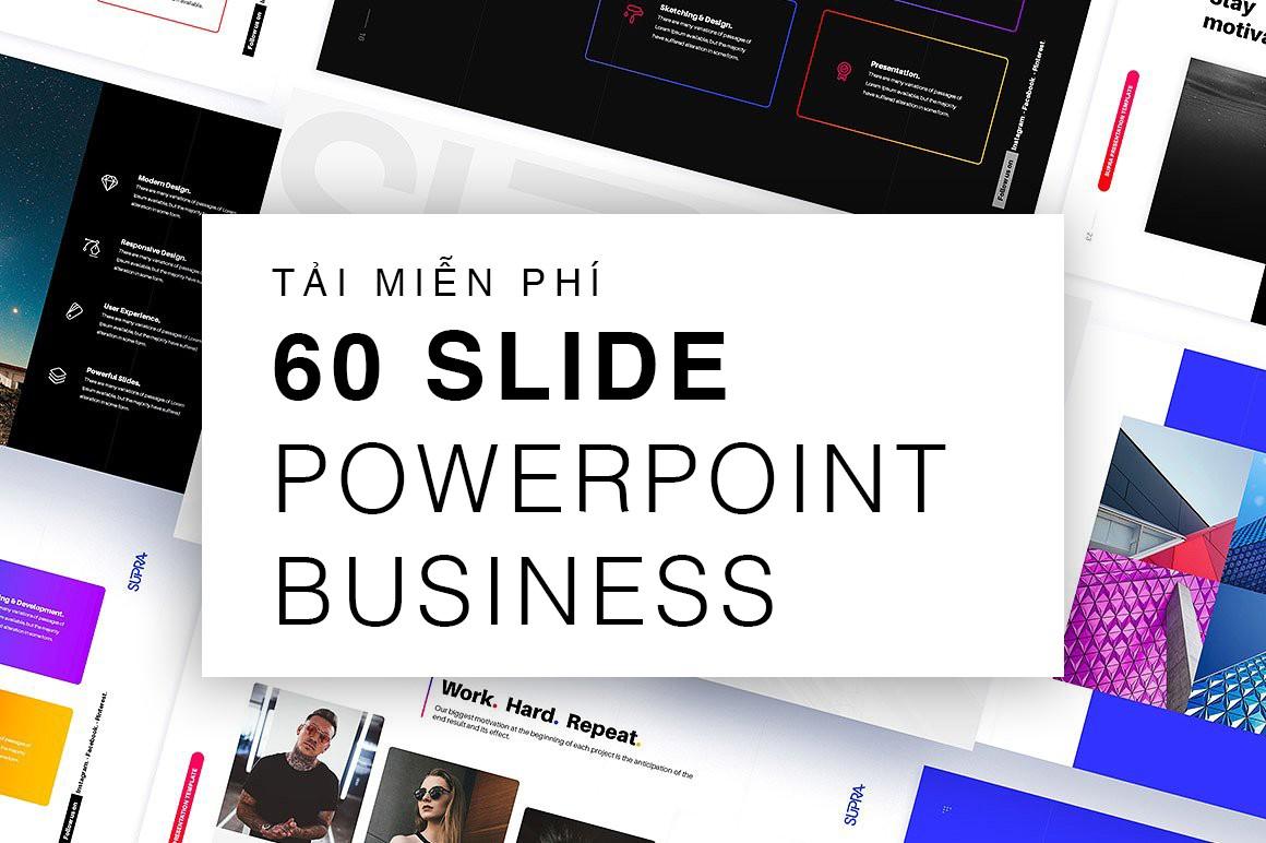 Nếu bạn đang cần 1 mẫu báo cáo bằng Powerpoint, đây chính là thứ bạn tìm kiếm!