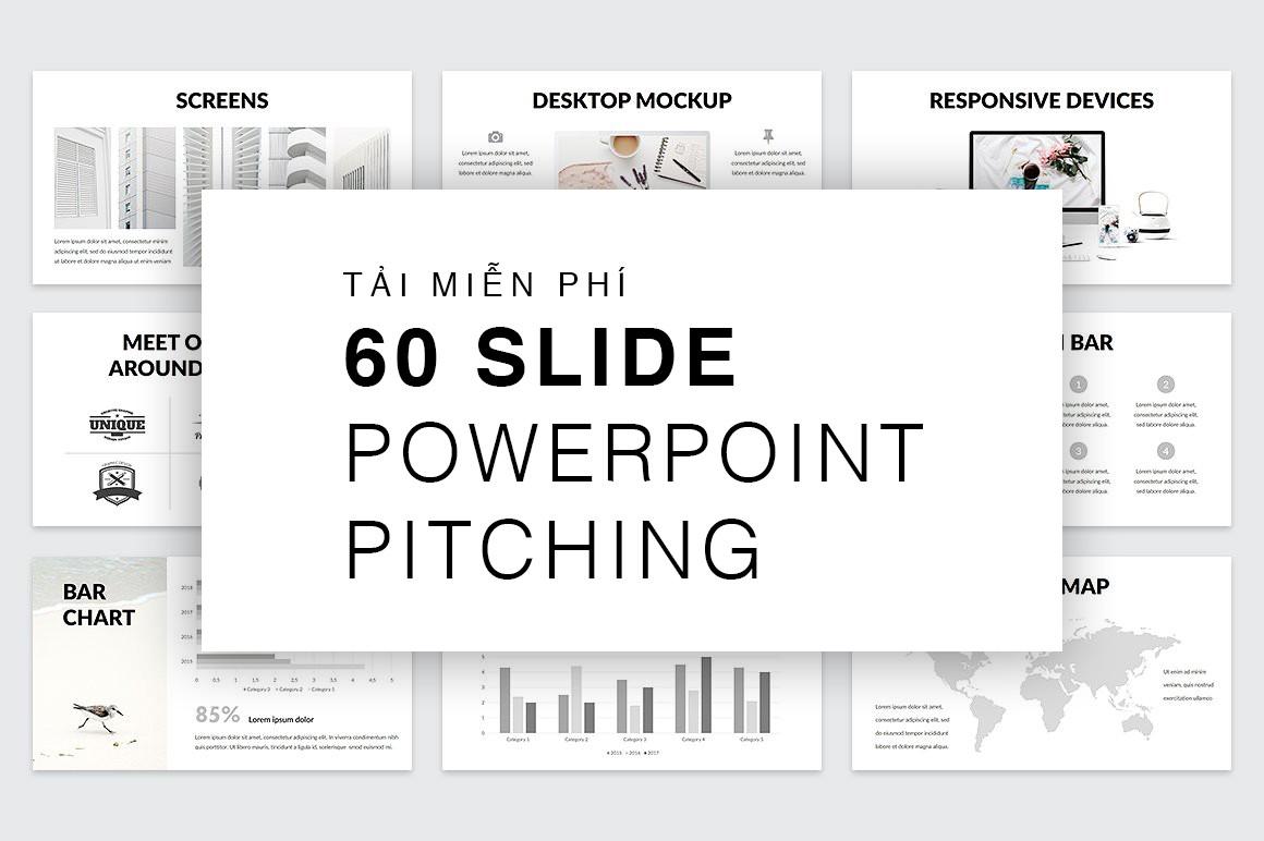 Nếu bạn đang cần 1 template slide để pitching dự án/sản phẩm của mình, nhanh tay download nhé!