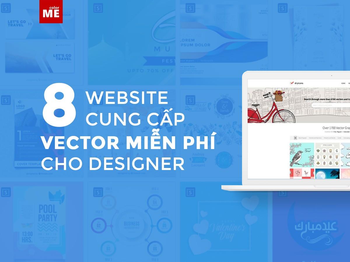 ColorME giới thiệu đến các bạn những website cung cấp nguồn vector miễn phí, cực hữu ích khi bạn thiết kế trên phần mềm Illustrator nhé.