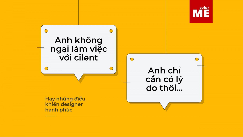 Hay những điều khiến designer vui