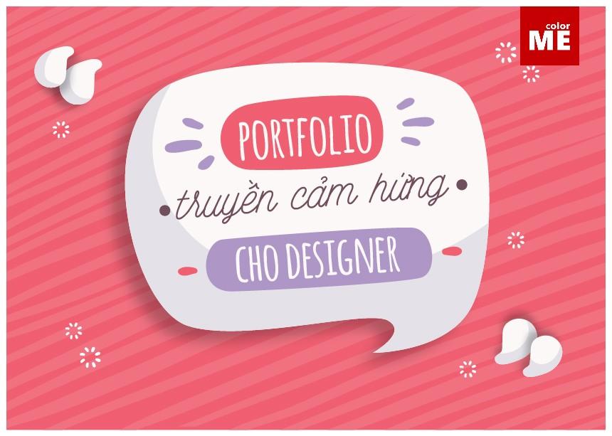 Portfolio truyền cảm hứng cho designer