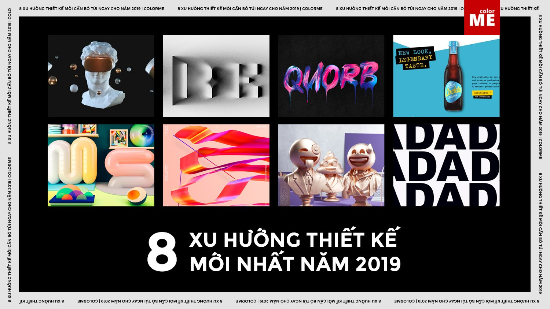 """Xu hướng đồ hoạ là một yếu tố thú vị trong Digital Art. Chỉ còn chưa đầy 3 tháng nữa là đến năm 2019, chúng ta sẽ chứng kiến xu hướng thiết kế nào lên ngôi ? hay vòng xoay sẽ không đổi ngôi ? Vậy hãy cùng ColorME """"điểm danh"""" những trends hứa hẹn """"làm mưa"""