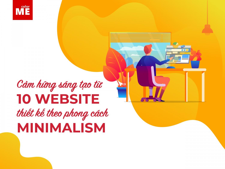 Cảm hứng sáng tạo từ 10 website thiết kế theo phong cách minimalism