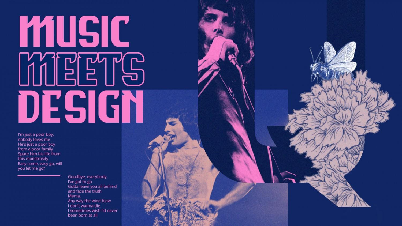 Sự giao thoa giữa âm nhạc và thiết kế, hay lời tỏ lòng của một người ái mộ Queen