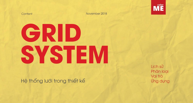 Làm quen với hệ thống lưới trong thiết kế