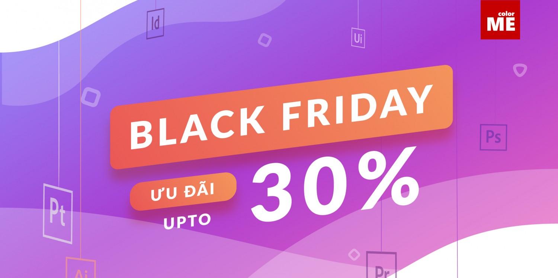 Ưu đãi bùng nổ mùa Black Friday - Sale up to 30% - Đăng ký ngay thôi