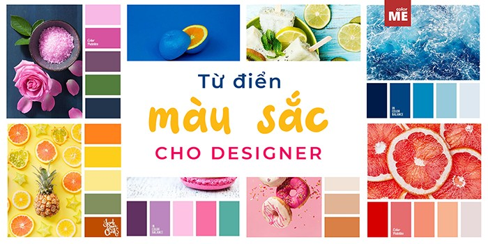 Trọn bộ từ điển màu sắc cho designers