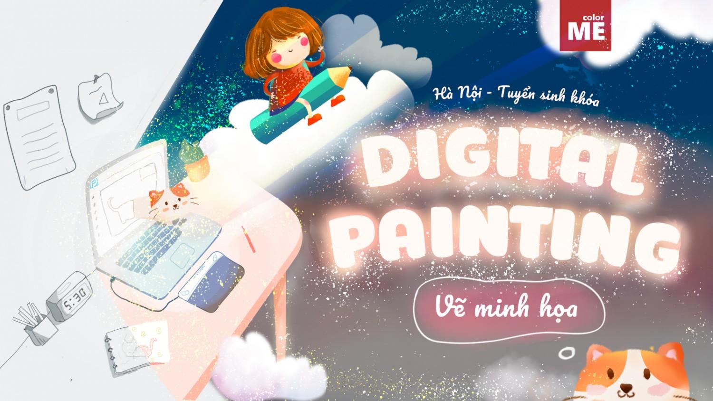 Những ưu đãi hấp dẫn dành riêng cho khóa học Digital Painting - vẽ minh họa của ColorME