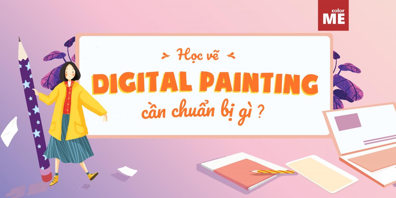 Digital Painting là lĩnh vực thu hút nhiều sự quan tâm của các bạn trẻ trong thời gian gần đây. Vậy để học vẽ Digital Painting, bạn cần chuẩn bị những gì, theo dõi bài viết ngay để biết nhé!