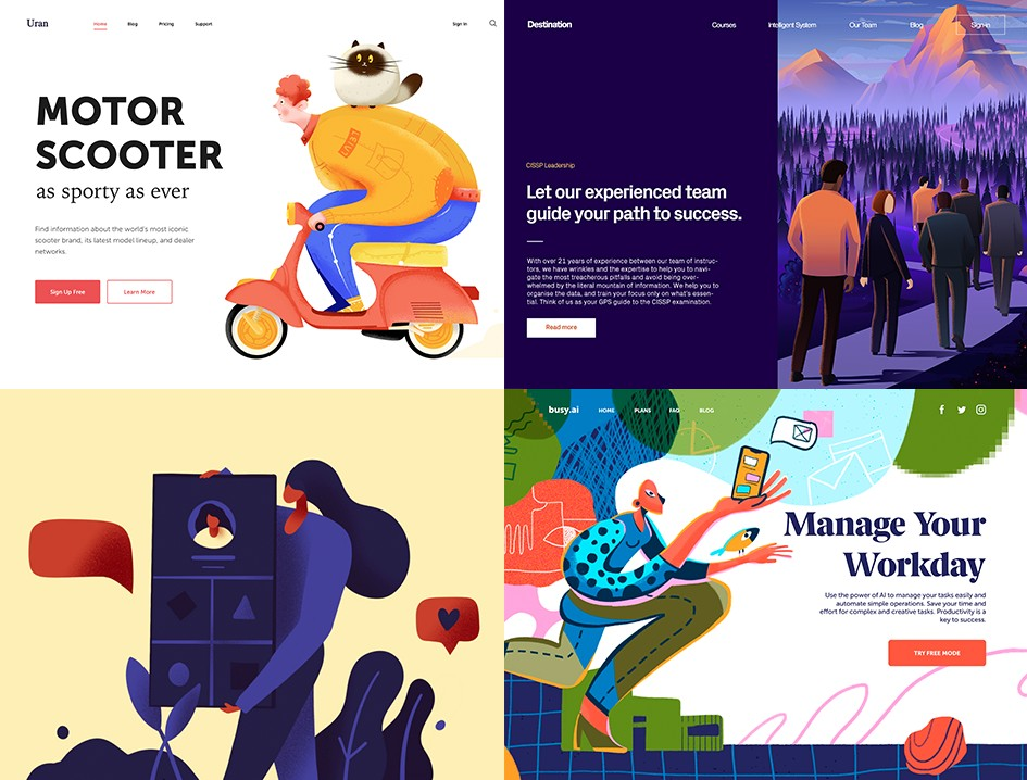 Nhà thiết kế cần đi đầu trong các xu hướng thiết kế mới nhất. Phong cách làm việc nên thay đổi và phát triển để giữ cho công việc luôn mới mẻ và cộng hưởng với khách hàng và sản phẩm.