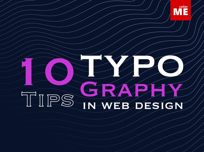 10 tips về typography trong thiết kế web (phần 1)