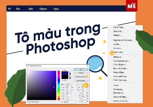 Tô màu trong Photoshop là một thủ thuật cơ bản với người mới bắt đầu. Nhưng bạn có biết, mỗi thiết kế lại cần sử dụng cách tô màu và chỉnh màu khác nhau. Hôm nay, mình sẽ giới thiệu cho bạn 03 bước tô màu trong Photoshop đẹp mắt nhất nhé: