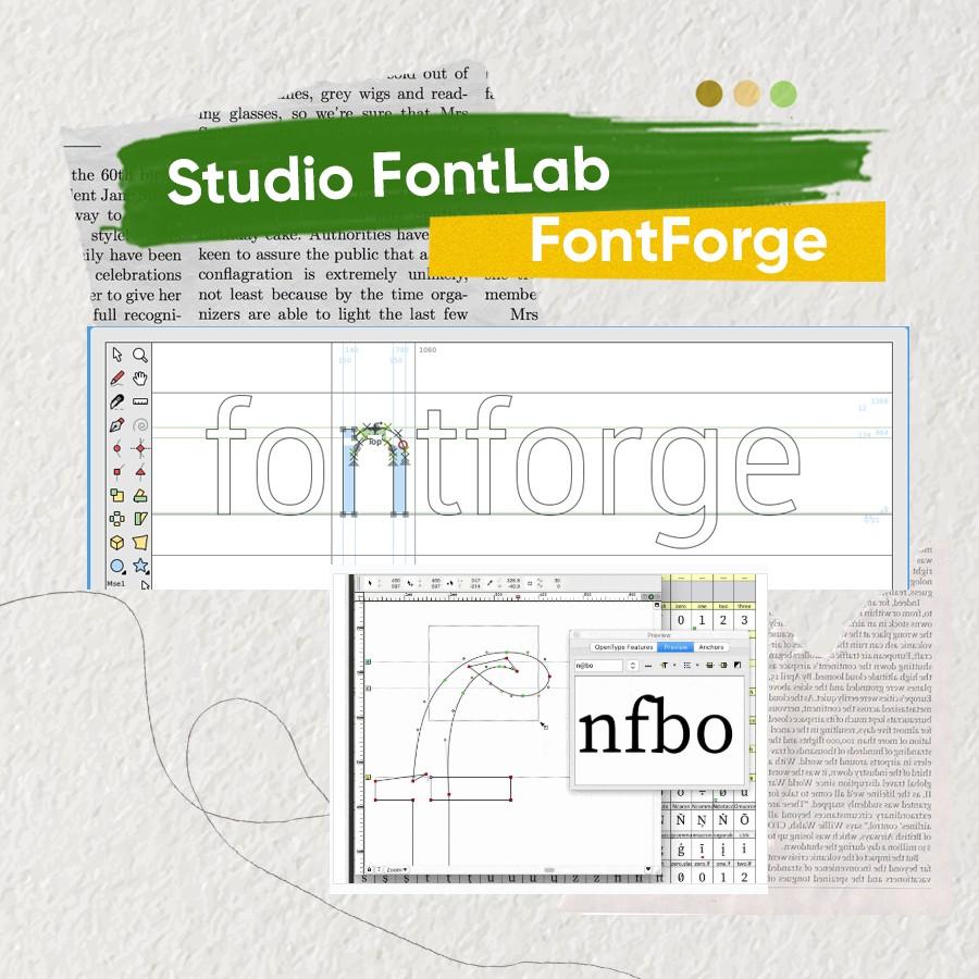 phần mềm thiết kế font chữ
