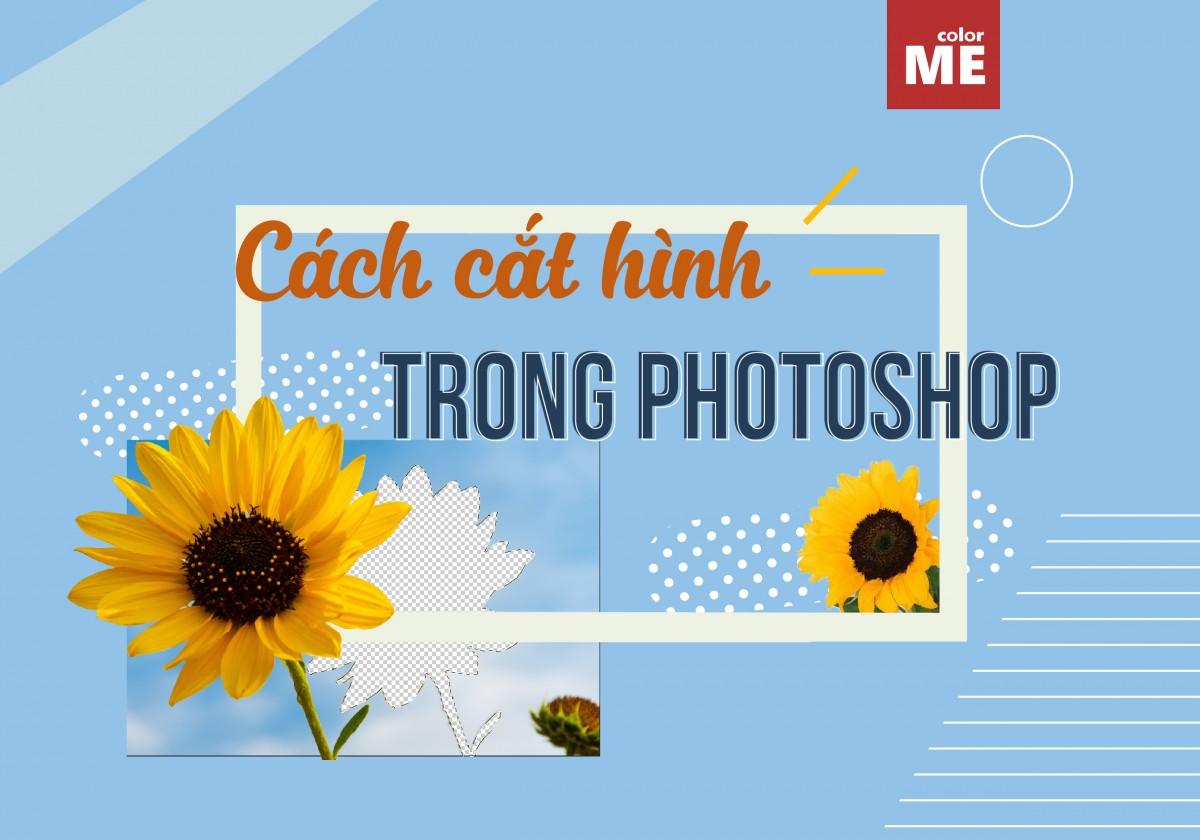 Adobe Photoshop cung cấp cho người dùng nhiều phương pháp để cắt các đối tượng ra khỏi hình ảnh. Vậy có những công cụ nào để cắt hình trong Photoshop? Cùng tìm hiểu qua bài viết sau đây của ColorME nhé.