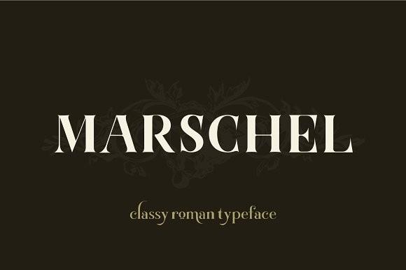 Fonts chữ Marschel