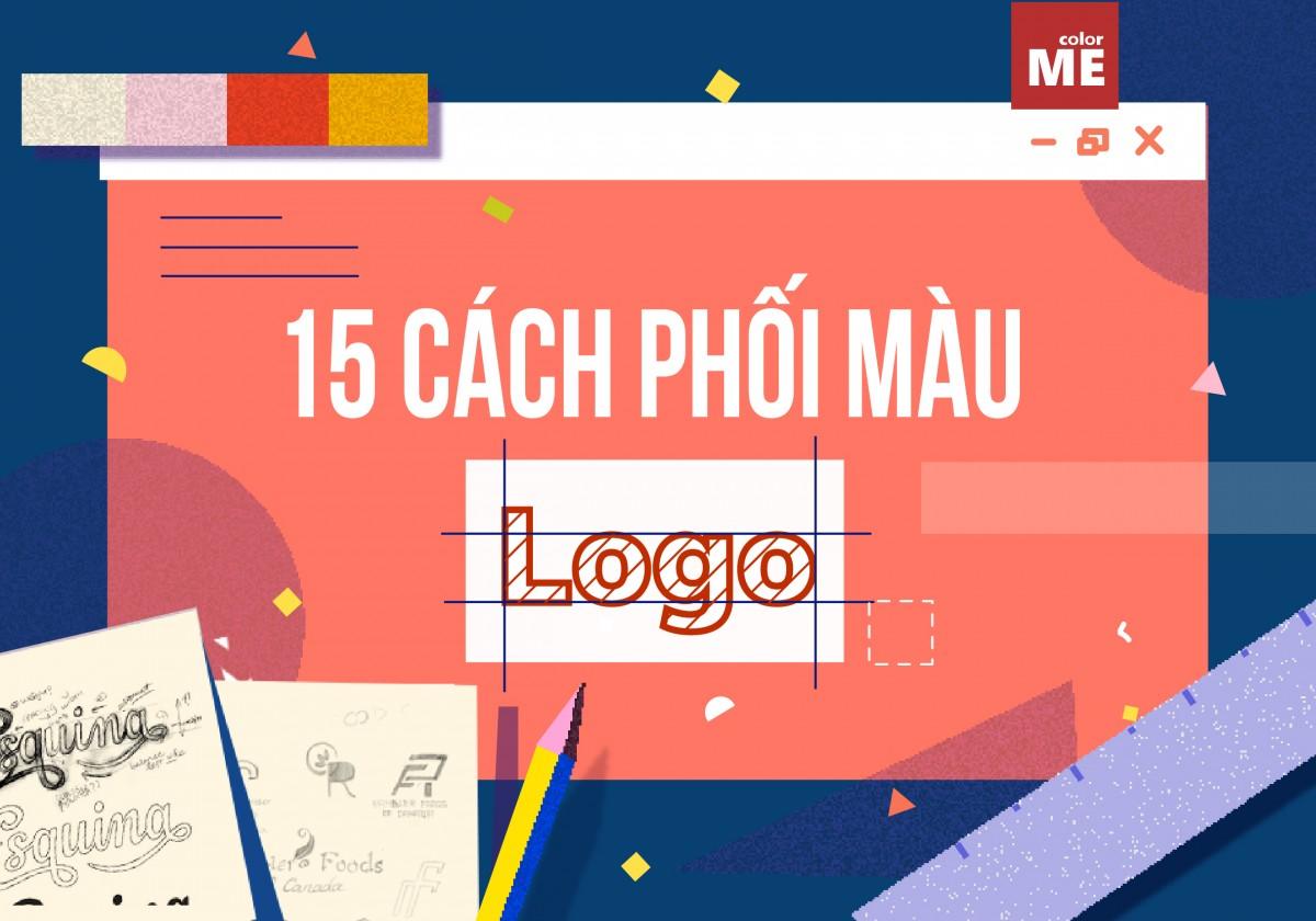 Nếu bạn chưa có ý tưởng phối màu cho dự án thiết kế logo của mình, tham khảo 15 cách phối màu logo truyền cảm hứng dưới đây cùng ColorME nhé