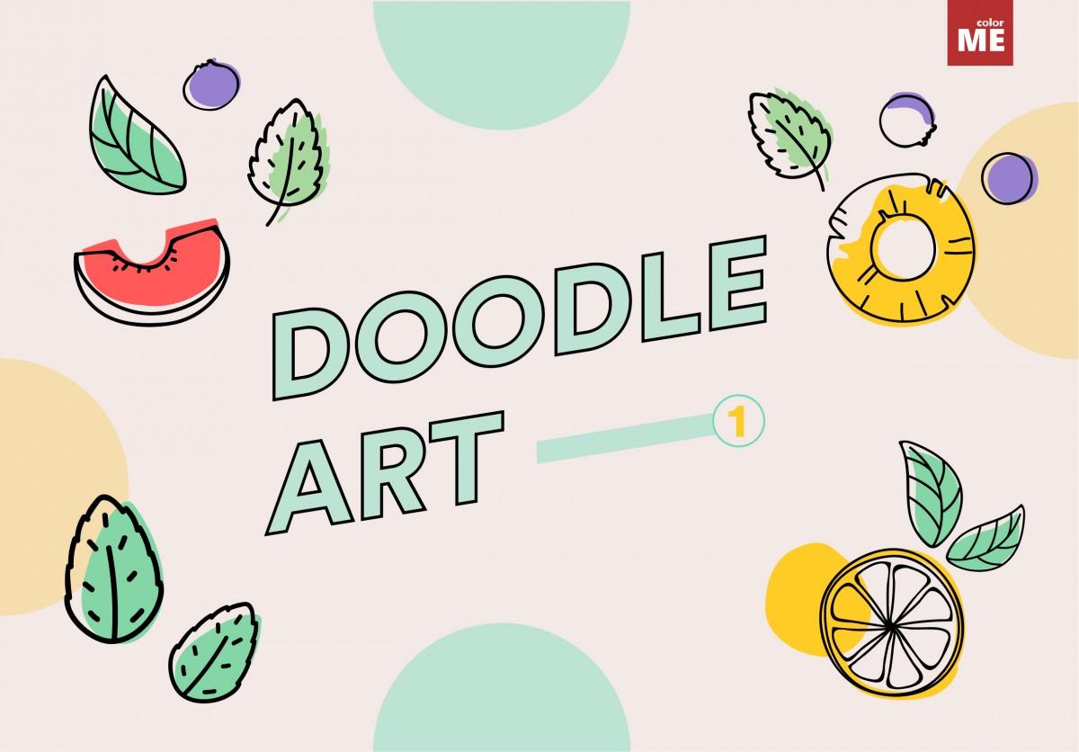 """Đã bao giờ trong những lúc rảnh rỗi, lơ đãng bạn vô tình đặt bút vẽ một vài nét vẽ """"nguệch ngoạc"""" để thoả mãn đôi tay ngứa ngáy hoặc níu kéo chút cảm hứng vừa chạy qua trong đầu? Hãy cùng ColorMe khám phá về nghệ thuật đầy ngẫu hứng - Doodle art này nhé."""