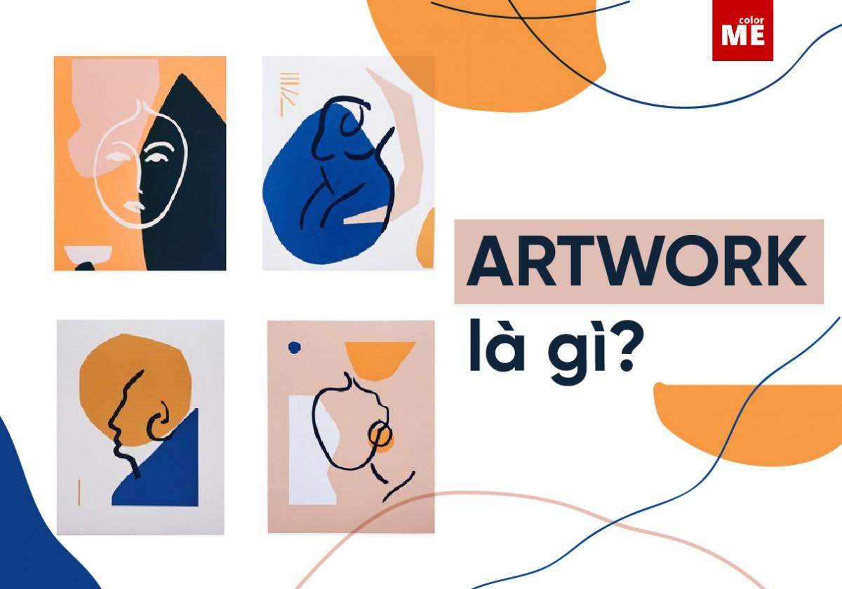 Artwork là tác phẩm mà bạn dự định đưa vào các sản phẩm in ấn như sách, báo, tạp chí,... bao gồm hình ảnh, tranh vẽ, hình vẽ, biểu đồ, đồ thị, bản đồ (không bao gồm các bảng và văn bản).