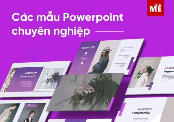 Bạn đang tốn quá nhiều thời gian để thiết kế một bản Powerpoint ấn tượng. Dưới đây, ColorMe sẽ gợi ý cho bạn 10 nguồn miễn phí tạo các mẫu Powerpoint chuyên nghiệp với thiết kế đa dạng với nhiều chủ đề, mục đích khác nhau.