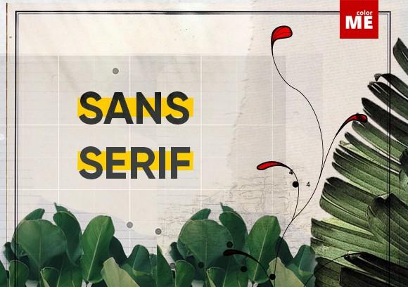 Font chữ là một thành tố quan trọng trong quá trình thiết kế ấn phẩm hoàn chỉnh. Trong bài viết này, hãy cùng ColorME tìm hiểu về font Sans Serif rất quen thuộc với các designer nhé !