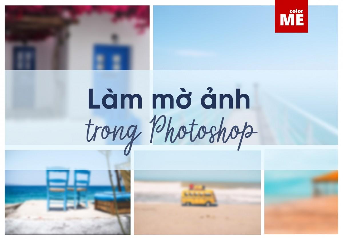 Một bức ảnh hoàn hảo đôi khi cần hiệu ứng Blur (làm mờ) để tăng tính thẩm mỹ và là điểm nhấn giúp người chụp truyền tải tốt hơn thông điệp của mình. Hãy cùng ColorMe khám phá 7 bước đơn giản để làm mờ ảnh trong Photoshop thật chuyên nghiệp nhé.