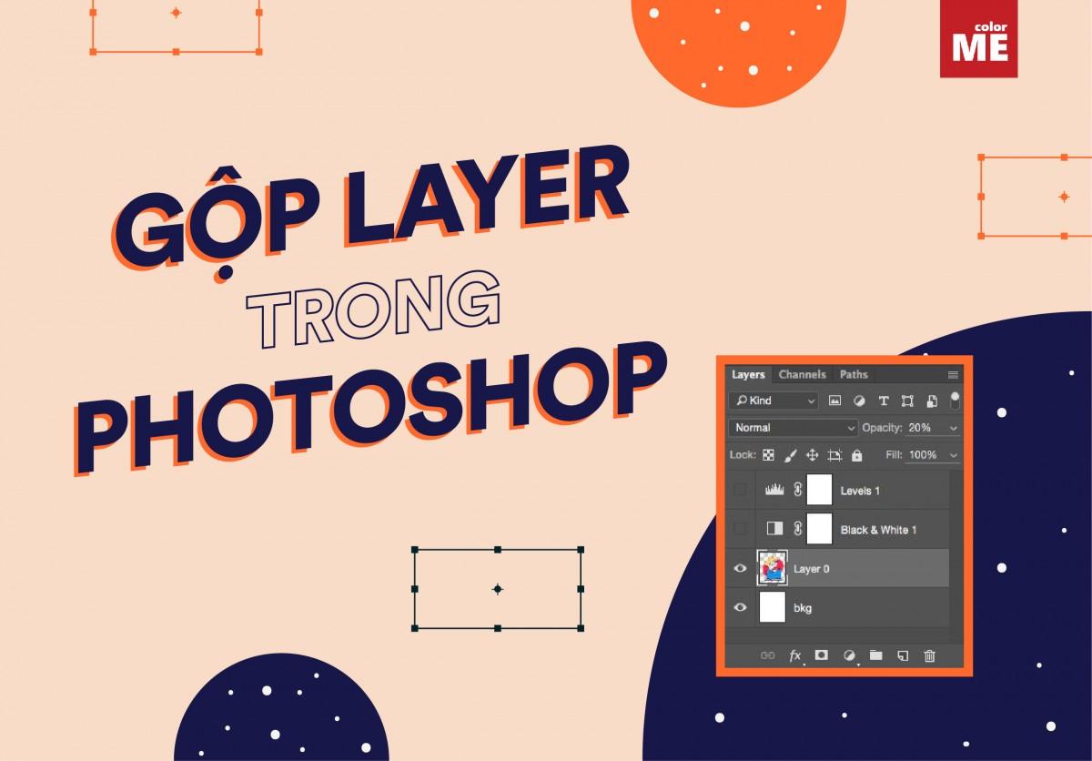 Gộp layer trong photoshop đơn giản và dễ ợt, nhưng không phải ai cũng biết đâu nhé. Bài viết dưới đây sẽ hướng dẫn bạn cách gộp layer một cách nhanh nhất.