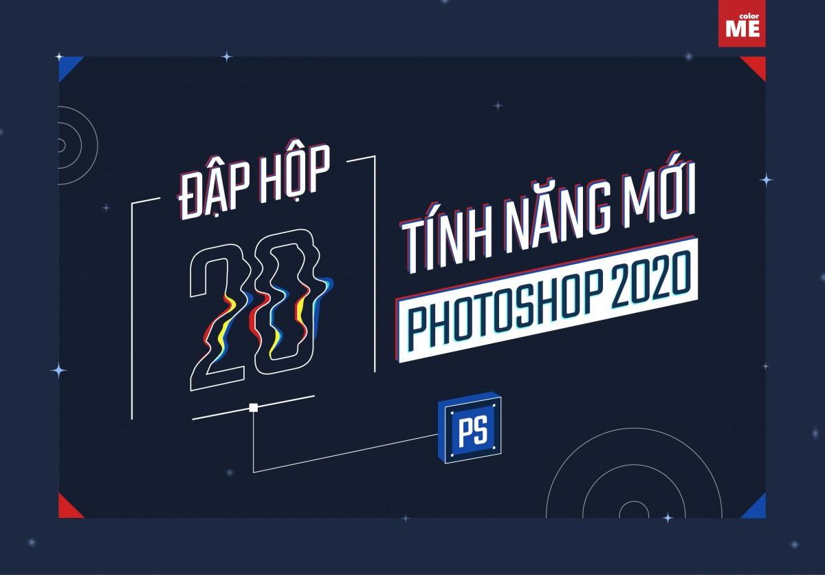 Sốt xình xịch!!! Phiên bản Photoshop 2020 với update version 21.0 vừa được trình làng trong sự kiện Adobe Max 2019 vào ngày 04/11 vừa qua các bạn ơi.Có những tính năng chỉnh sửa và cập nhật nào được thực hiện trong phiên bản mới này? Cùng ColorME tìm hiểu 20 tính năng mới toanh của Photoshop 2020 nhé.