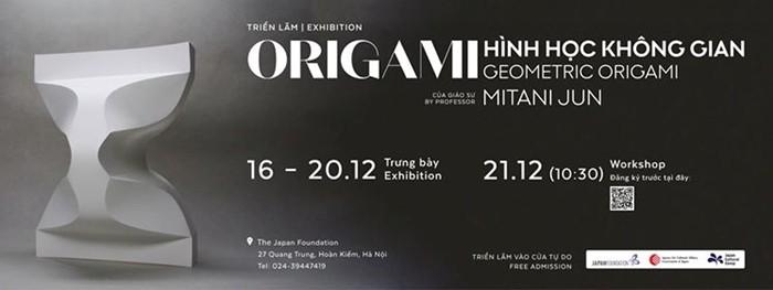 Triển lãm kết hợp workshop hứa hẹn mang lại những góc nhìn mới lạ về nghệ thuật gấp giấy Origami – nét văn hóa truyền thống đặc sắc của đất nước Nhật Bản đến với những người yêu thích Origami.