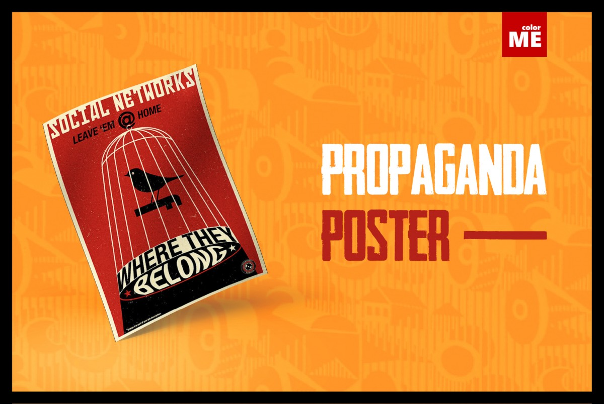Propaganda poster là gì, loại ấn phẩm này có gì đặc biệt? Nếu bạn còn đang thắc mắc, tìm hiểu ngay qua bài viết 8 propaganda poster có ảnh hưởng nhất mọi thời đại sau đây cùng colorME nhé