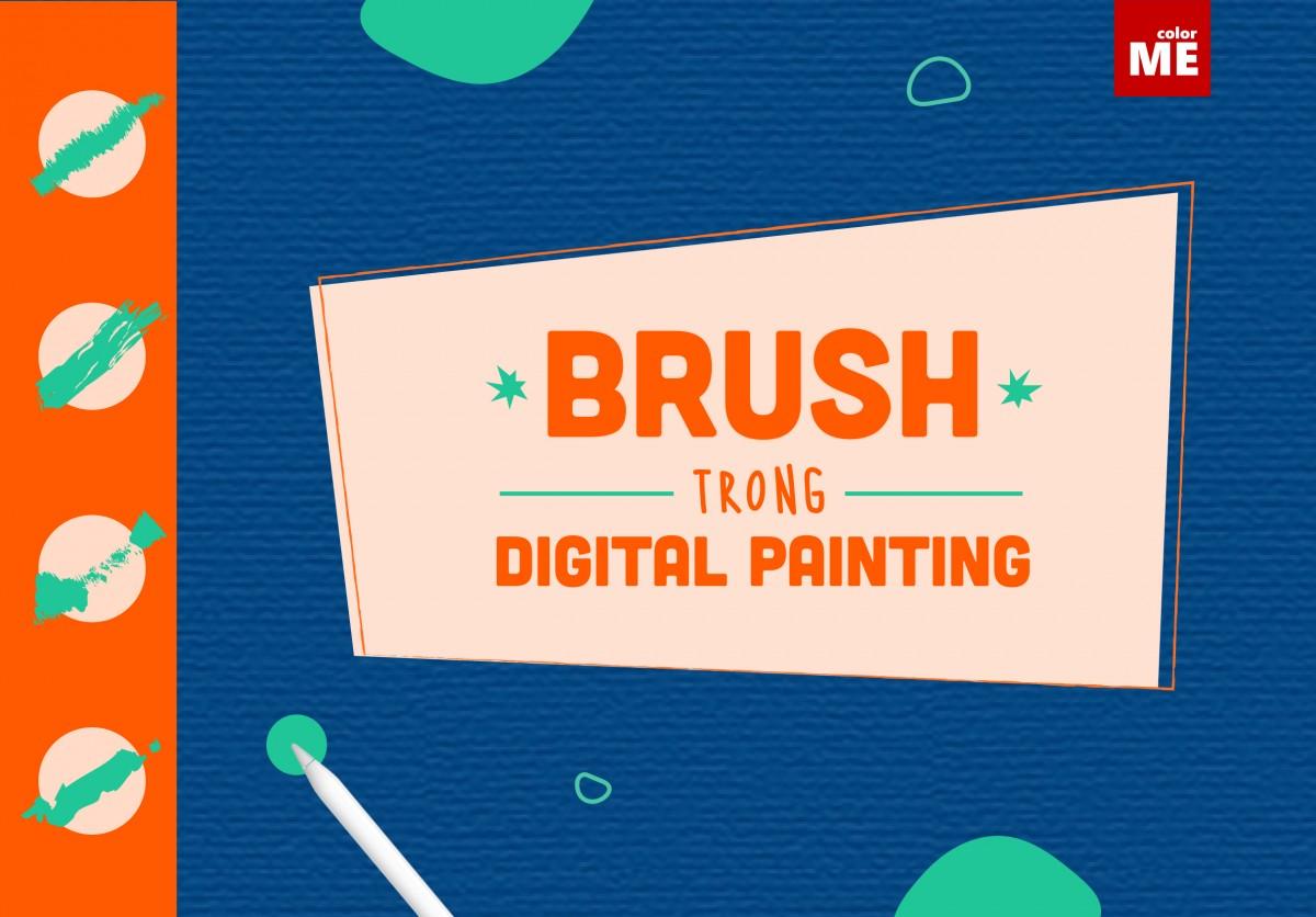 Photoshop brushes những công cụ tiện lợi giúp bạn tạo ra những bức tranh phức tạp nhưng vẫn tiết kiệm rất nhiều gian. Dưới đây là 10 brush trong digital painting cho người mới bắt đầu