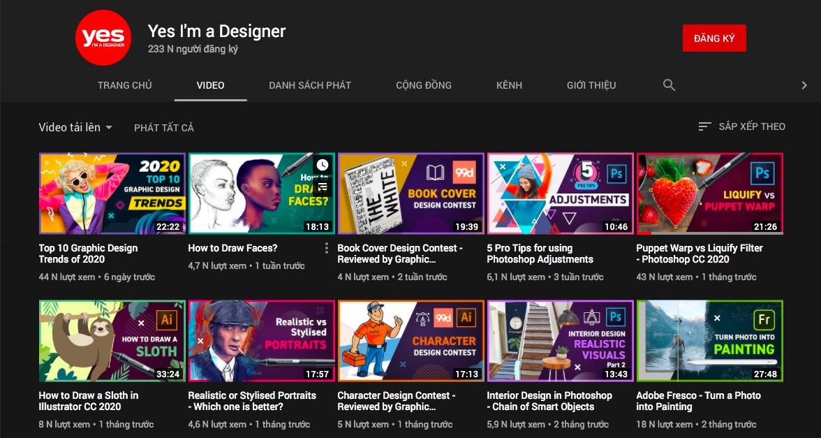 youtube học thiết kế đồ họa, ATPWeb.vn - Khởi tạo ngôi nhà Online.