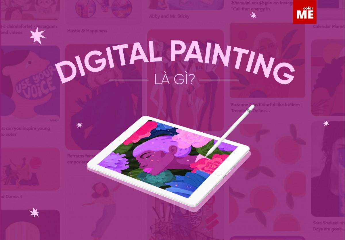 """Digital Painting vốn đã trở thành trào lưu được yêu thích trên thế giới từ khá lâu, tuy nhiên, đây vẫn là loại hình hội họa khá mới lạ ở Việt Nam. Hãy cùng colorME tìm hiểu Digital Painting là gì và những điều bạn cần biết trước khi """"dấn thân"""" vào ngành này nha."""