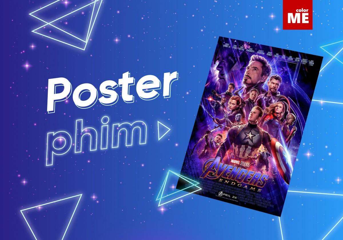 Poster luôn đóng vai trò quan trọng trong việc quảng bá cho một bộ phim, thu hút sự chú ý từ công chúng. Hãy cùng ColorME chiêm ngưỡng một số poster phim ấn tượng trong thời gian qua nhé!