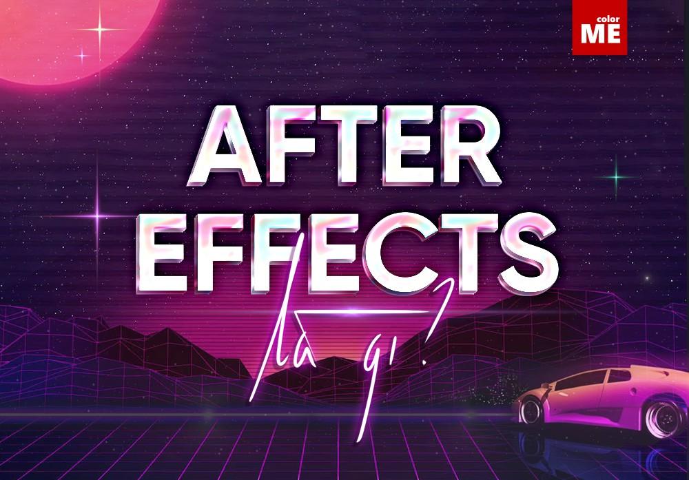 Bạn đam mê và mong tìm hiểu về lĩnh vực sáng tạo đồ hoạ chuyển động, hay những kĩ xảo điện ảnh chuyên nghiệp mà chưa biết bắt đầu từ đâu? Câu trả lời chính là tìm hiểu ngay về phần mềm After Effects thôi nào! Hãy cùng ColorME khám phá và giải đáp thắc mắc After Effects là gì và những điều cần biết về After Effects trong bài viết dưới đây nha!