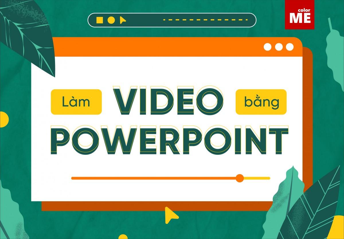 """Khi bạn đang băn khoăn không biết nên dùng phần mềm nào để làm video thì bỗng nghe thấy tin đồn """"powerpoint cũng làm video đẹp được"""". Vậy thực hư ra sao và làm thế nào để tạo được video chỉ bằng phần mềm như PowerPoint? Hãy tìm hiểu ngay qua bài viết này nhé!"""