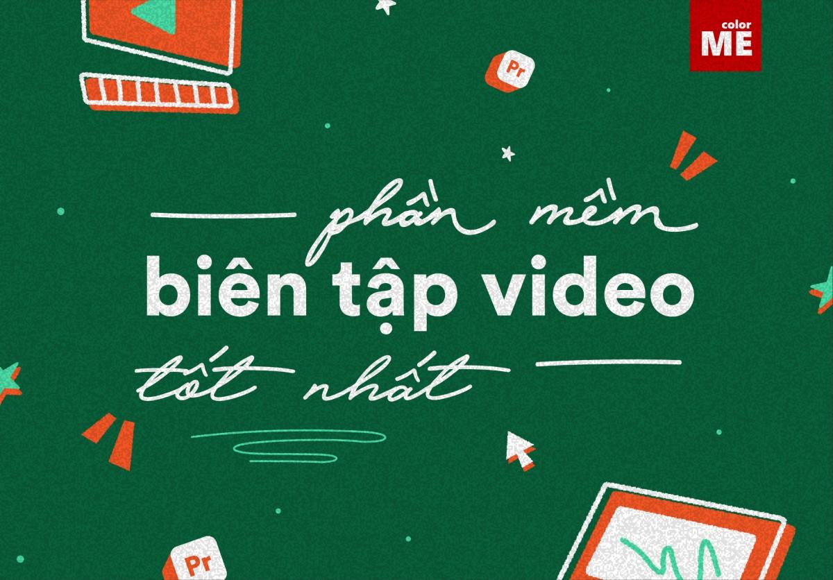 Với kho tàng hình ảnh, clip và những ý tưởng tuyệt vời trong đầu, bạn muốn tự mình biên tập video để lưu lại những khoảnh khắc đáng nhớ nhưng còn đang loay hoay không biết phần mềm biên tập nào sẽ là sự lựa chọn đúng đắn nhất. Trong bài viết này, Color Me sẽ giới thiệu cho bạn những phần mềm biên tập video tốt nhất và được sử dụng nhiều nhất hiện nay, đừng bỏ lỡ nhé!