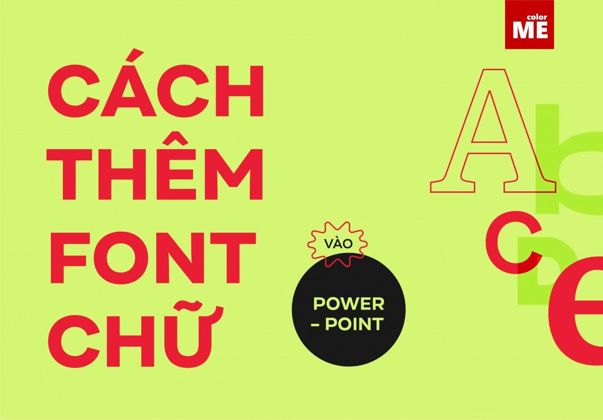 """Muốn có một slide trình chiếu đẹp mắt và hiệu quả, font chữ là một trong những yếu tố tiên quyết hàng đầu. Chính vì vậy, đôi khi các font chữ có sẵn trong Powerpoint khó có thể """"chiều lòng"""" thiết kế của bạn. Bài viết dưới đây sẽ giúp bạn thêm font chữ vào Powerpoint với những thao tác hết sức đơn giản."""