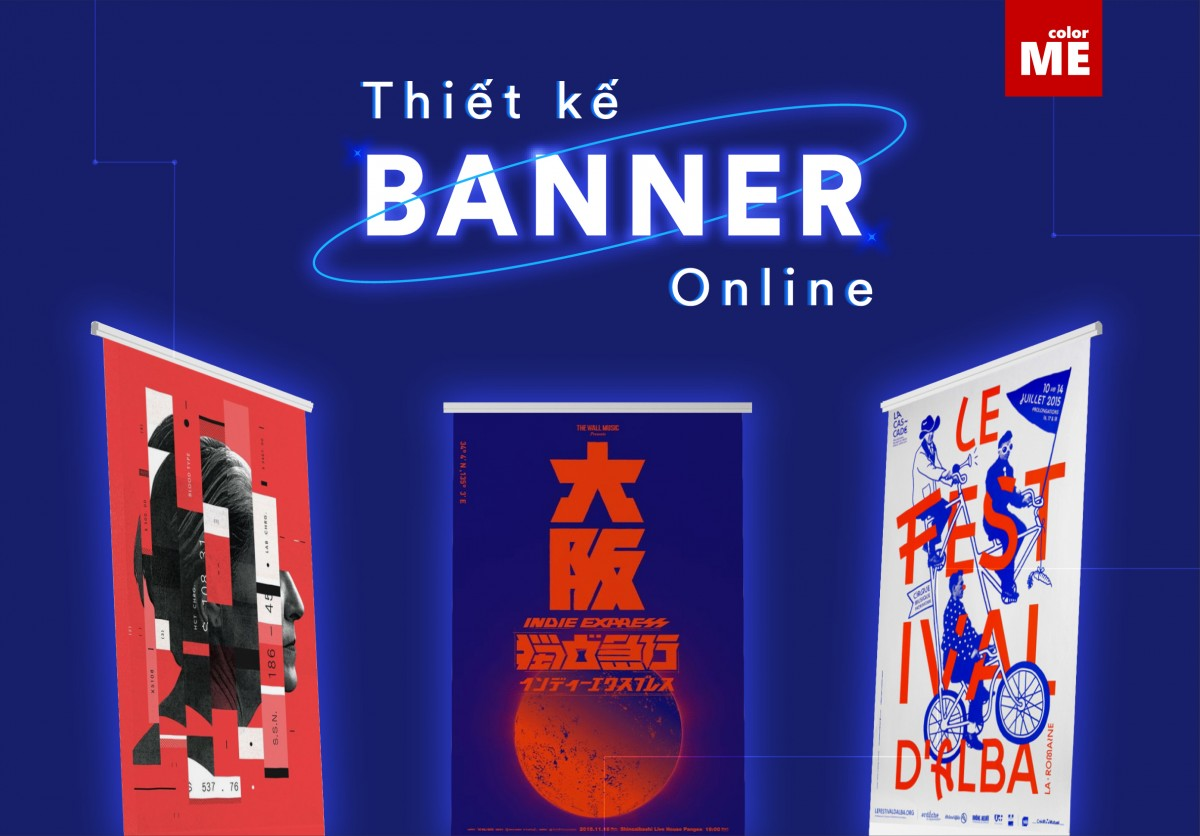 Banner là một dạng ấn phẩm cực kỳ phổ biến trong thiết kế, truyền thông quảng cáo, branding thương hiệu, … để dễ dàng thu hút sự chú ý của người xem, truyền tải thông điệp dễ dàng và trực quan, sinh động hơn. Trong bài viết này, ColorME sẽ mách bạn bỏ túi 5 trang web thiết kế banner online cực dễ dàng, thân thiện mà lại vô cùng chuyên nghiệp, đừng bỏ lỡ nhé!