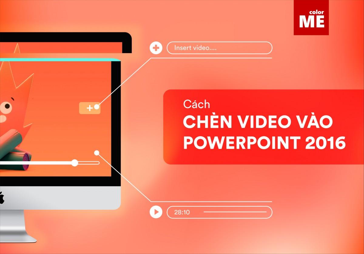 Để một bản thuyết trình trở nên sinh động hơn, thay vì chỉ sử dụng hình ảnh và chữ, việc thêm video khiến phần thông tin cần truyền tải trở nên trực quan và bớt nhàm chán. Cùng ColorME tìm hiểu cách để chèn video vào slide trong bài viết này nhé!