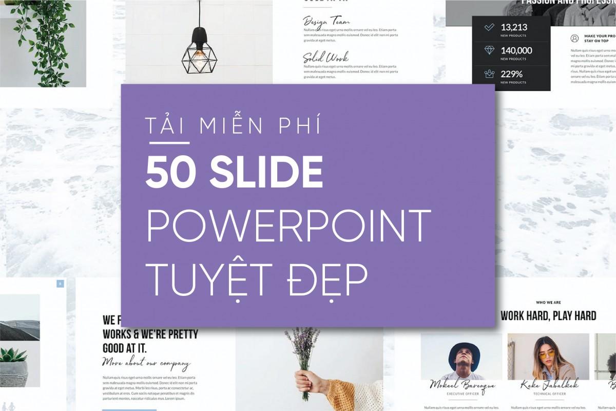Tải ngay hơn 80 Slide tuyệt đẹp giới thiệu sản phẩm/team/dự án