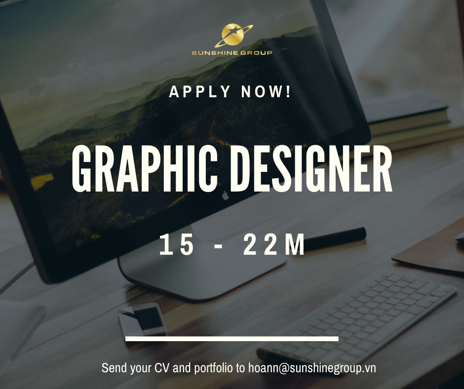 Sunshine Group tuyển dụng Graphic Designer