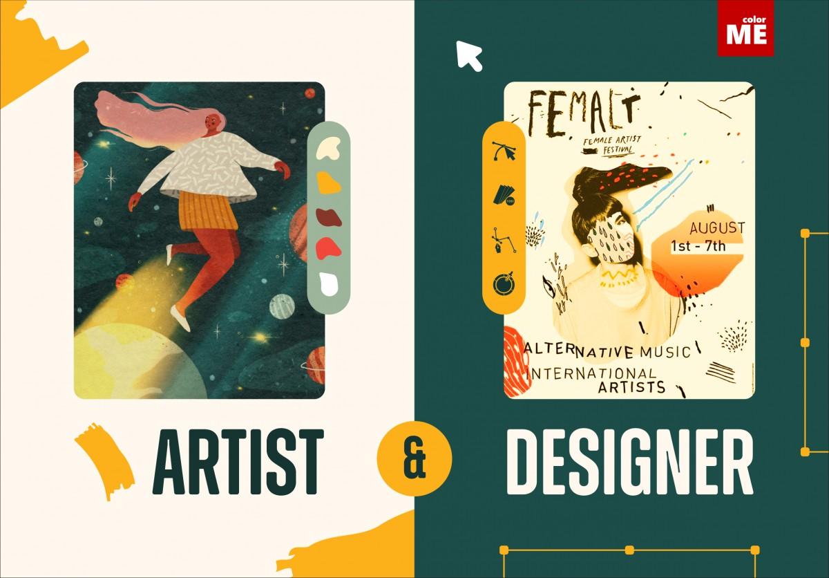 Artist và Designer - hai cá thể, hai định nghĩa, hai vị trí, tưởng như tương đồng nhưng luôn ẩn chứa sự khác biệt. Tuy nhiên không phải ai cũng có thể phân biệt rạch ròi thế nào là Artist, thế nào là Designer.  Hiện nay, khi thiết kế đồ họa đang trở thành xu hướng, vậy người làm thiết kế đồ họa, nên được hiểu là Artist hay Designer?