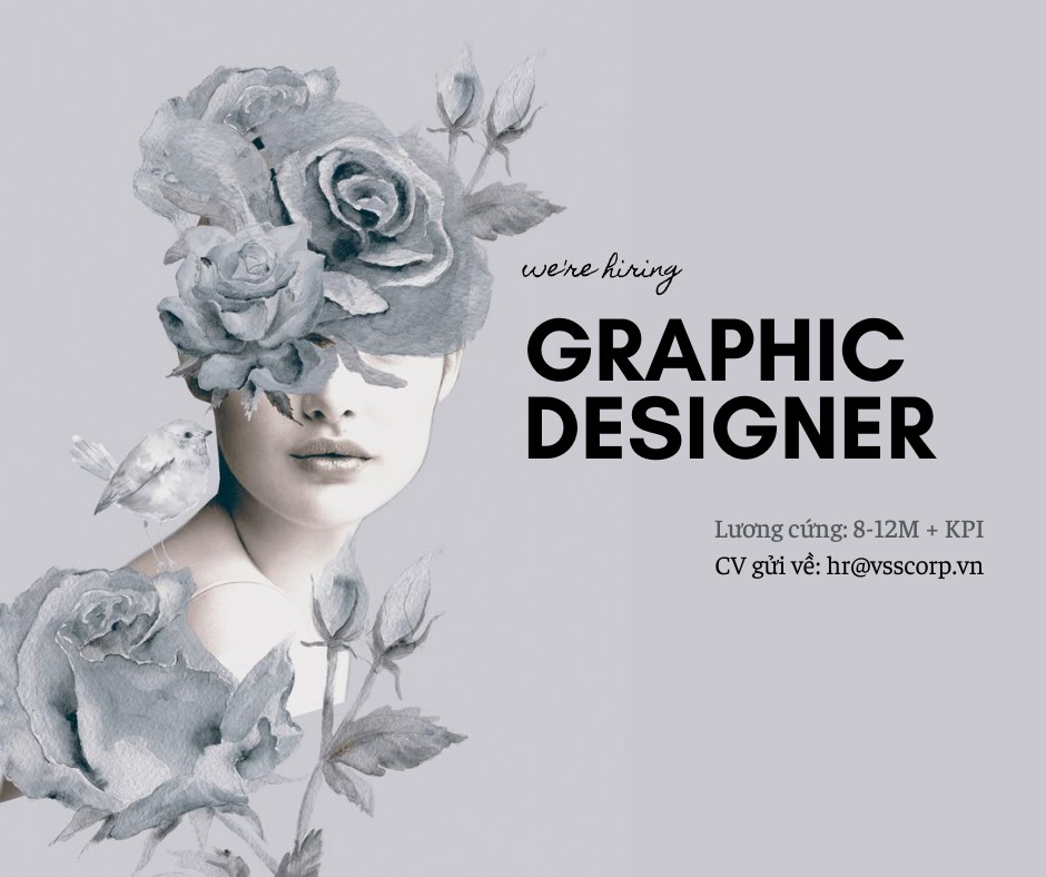 VSS CORPORATION TUYỂN DỤNG GRAPHIC DESIGNER