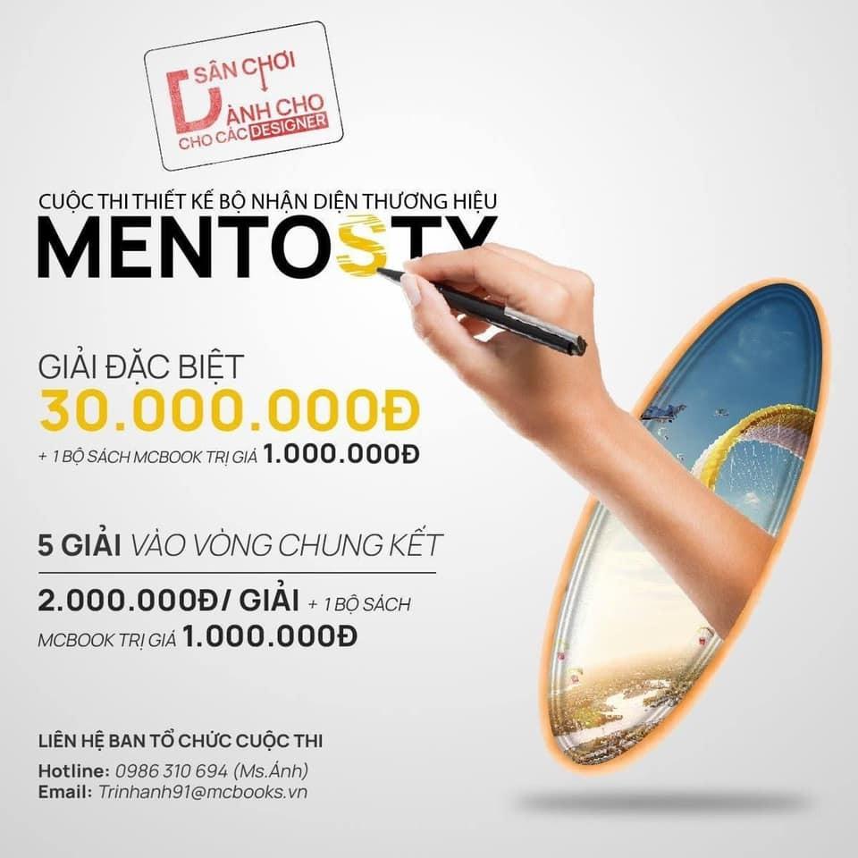 Cuộc thi thiết kế bộ nhận diện thương hiệu MENTOSTY