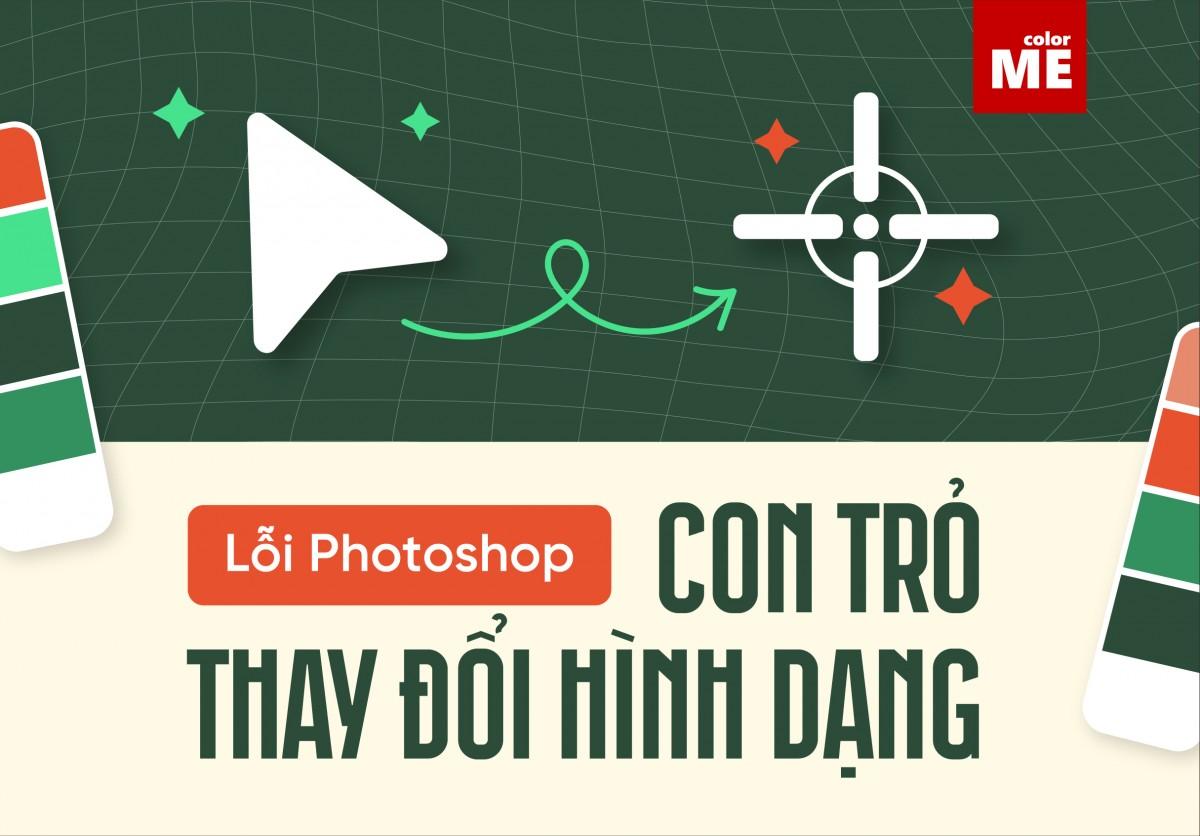 Ở thời điểm hiện tại, Adobe Photoshop là một trong những phần mềm thiết kế đồ họa chuyên nghiệp được ưa chuộng nhất. Tuy nhiên trong quá trình sử dụng, Photoshop vẫn xảy ra một số lỗi khiến cho người sử dụng không biết cách xử lý. Một ví dụ điển hình là vấn đề con trỏ bị thay đổi hình dạng hoặc thậm chí biến mất khi sử dụng công cụ Brush Tool. Trong bài viết này, ColorME sẽ hướng dẫn bạn cách khắc phục lỗi con trỏ bị thay đổi hình dạng trong Photoshop nhé!