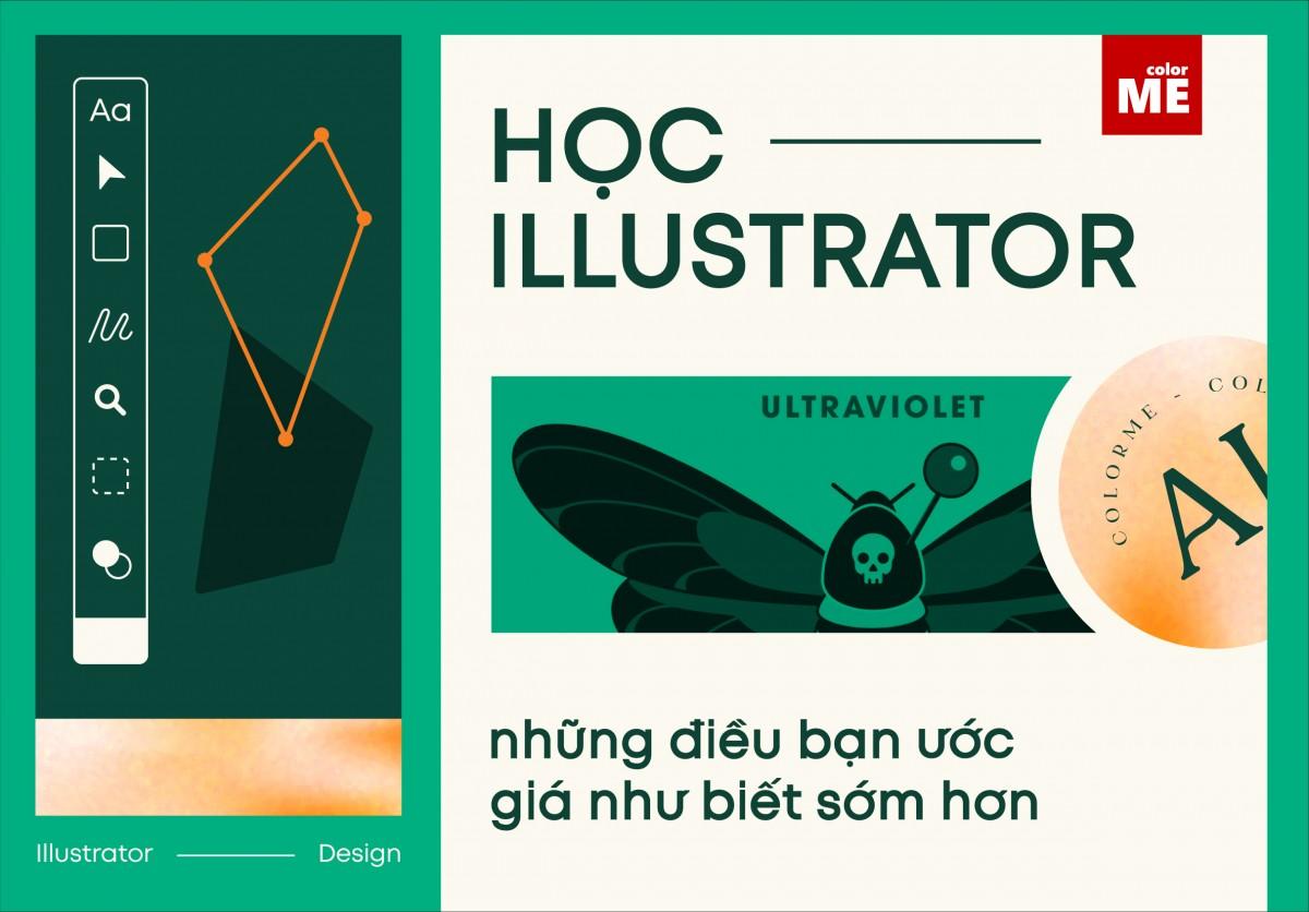 Là phần mềm thiết kế đồ họa có sự kết hợp giữa các thuật toán, đường giới hạn, hình học, và text để tạo thành một đối tượng vector, Illustrator từ lâu đã đóng một vai trò nền tảng trong lĩnh vực thiết kế. Vậy người dùng có thể làm được những gì sau khi học Illustrator? Và nếu như muốn theo đuổi con đường này thì cần phải tìm hiểu những điều gì? Hãy cùng colorME tìm hiểu trong bài viết dưới đây nhé.
