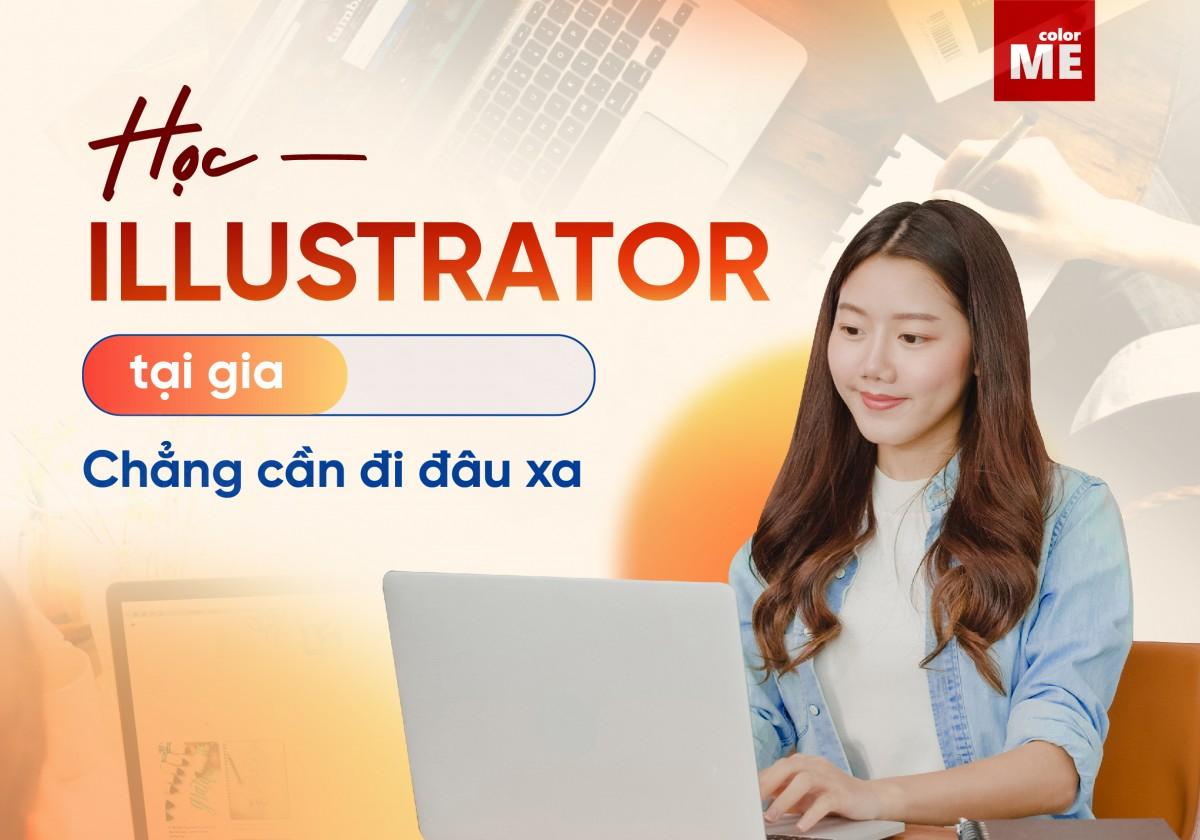 Phương pháp học thì nhiều vô kể, có thể học trực tiếp, tìm thầy dạy kèm, tìm lớp học online đến tự học. Tùy vào từng nhu cầu, điều kiện cũng như tác động ngoại cảnh mà chúng ta có lựa chọn những cách thức học phù hợp khác nhau. Đối với khóa học thiết kế, mà cụ thể ở đây là illustrator cũng vậy. Ở bài viết này, chúng mình sẽ giới thiệu và chia sẻ những kinh nghiệm để có thể học illustrator online được hiệu quả nhất. Cùng theo dõi nhé!
